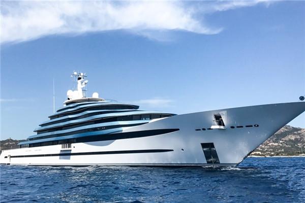 充满迷惑性 Oceanco推出全新110米Jubilee游艇
