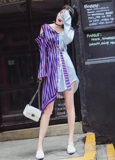 早秋服装流行趋势示范 三条衬衫裙让你时髦到飞起
