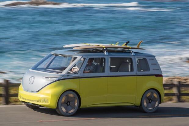 复刻版大众小巴2020年回归 纯电动汽车设计引发关注