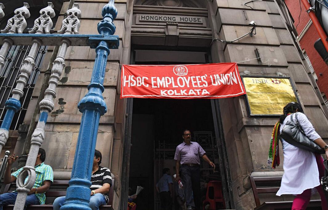 印度百万职员大罢工