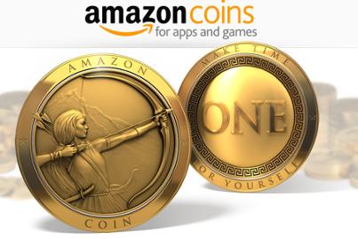 15、亚马逊币——Amazon Coins是一种新的虚拟货币,可以供美国用户购买Kindle Fire里的应用程序、游戏和应用程序中的道具物品。