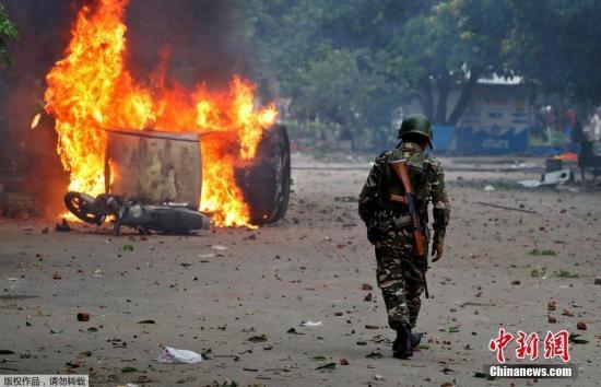 中印对峙最新消息:印度大规模暴乱已致31死300伤 多国发旅行警告