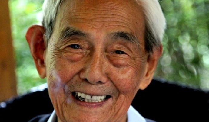 105岁老兵离世 儿子望着父亲称:父亲活了太久他说过想走了
