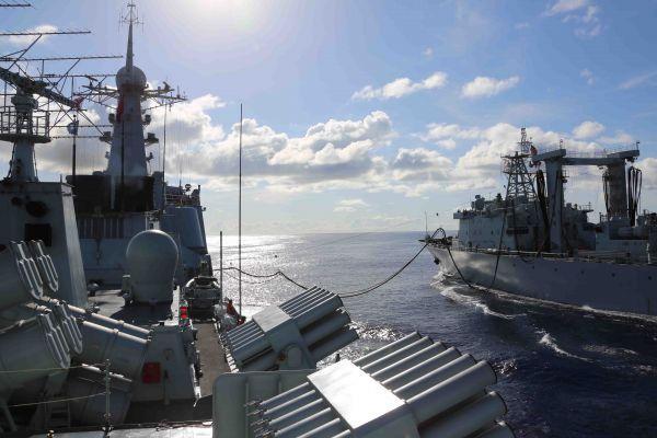 中印对峙最新消息:印媒紧盯中国海军实弹演练 称此举是向印度发出的强硬信号