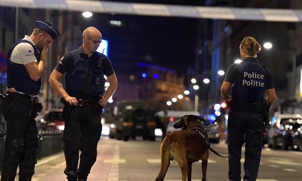 布鲁塞尔发生持刀伤人事件 比利时全境将维持三级水平警戒