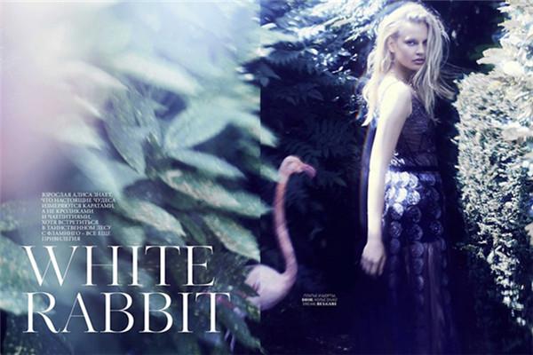 超模Elisabeth Erm登上《Marie Claire》杂志9月号封面