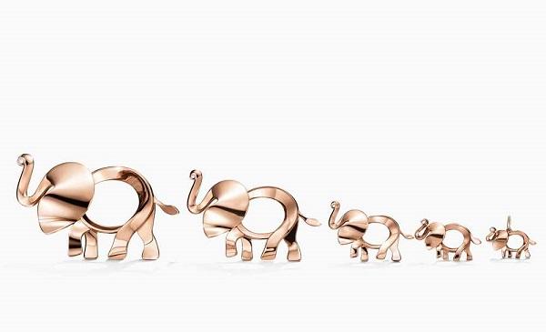 Tiffany Save The Wild系列珠宝新作 以独特大象造型唤醒爱心