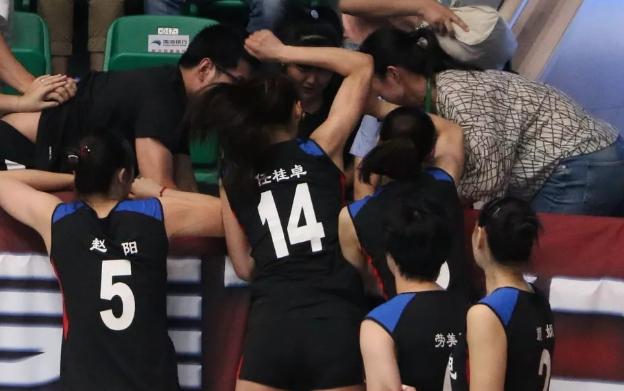 全运会女排赛场爆发冲突 辽宁队队员也参与了冲突