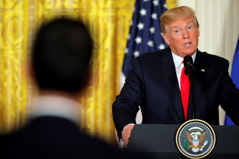 若国会拒绝修建美墨边境墙 总统恐将面临两难抉择