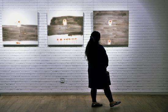 """""""山水——幼黎个展""""在爱慕美术馆开幕"""