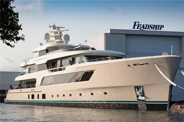 Feadship船厂发布全新69米动力游艇项目进度