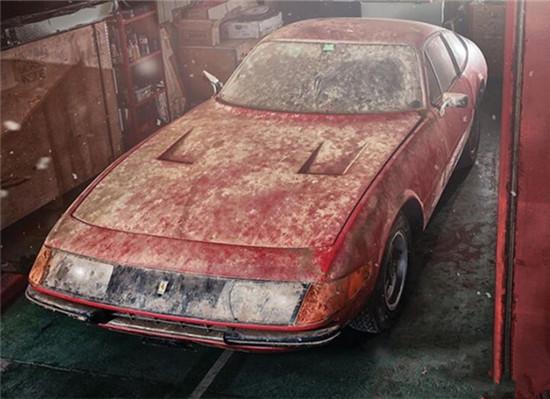 法拉利Daytonas 1979车型将亮相苏富比拍卖会