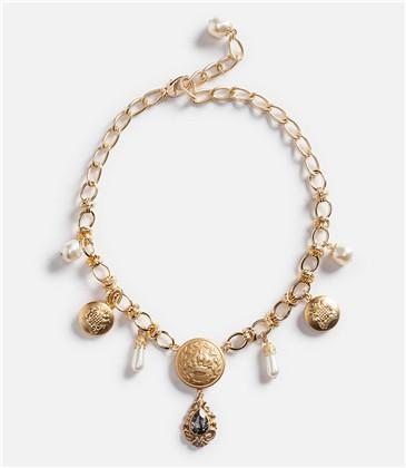 Dolce & Gabbana新一季珠宝作品 纹章王冠十字架复古气息爆棚