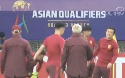 国足迎战乌兹别克 这是国足最后一个主场比赛了