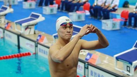 孙杨拿下游泳生涯100金 无疑也是前无古人的纪录!