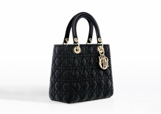 迪奥Lady Dior小羊皮经典手提包包 简约又不失优雅大方