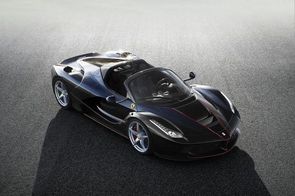 法拉利将于苏富比拍卖第210辆Laferrari Aperta车型