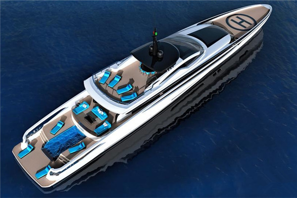 Van Oossanen发布47.5米XL-300 Sport高速概念游艇