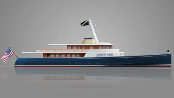 Royal Huisman船厂公布全新49.25米Marlin游艇项目