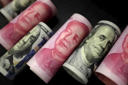 人民币升值呈加速趋势 人民币中间价录得六连涨