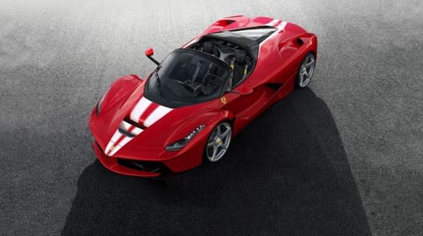 法拉利官方发布第210辆Laferrari Aperta车型官图
