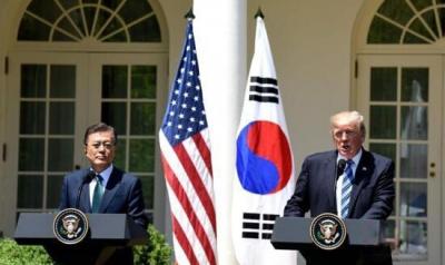 """特朗普""""剑指""""双边贸易 美国或退出美韩协定"""