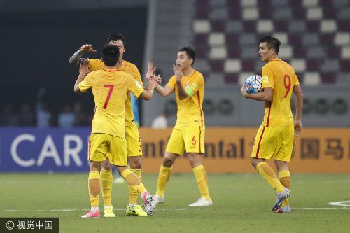 国足2-1逆转卡塔尔 但仍无缘世界杯