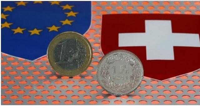 市场避险情绪萦绕 暂宜逢低买入欧元兑瑞郎