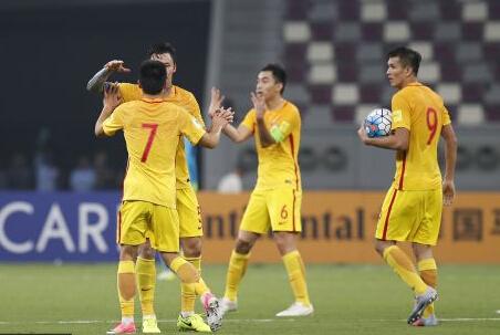 国足2-1卡塔尔 最终无缘亚洲区附加赛