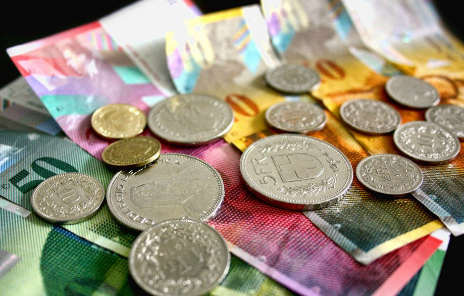 美元/瑞郎短期偏向下行 三个月内将反弹至0.97