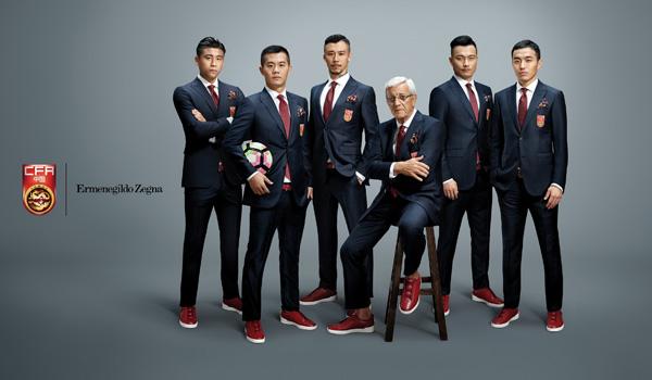 Ermenegildo Zegna发布中国足球队正式形象大片