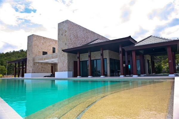 泰国查安豪宅:现代罗马建筑风格融合亚洲风情