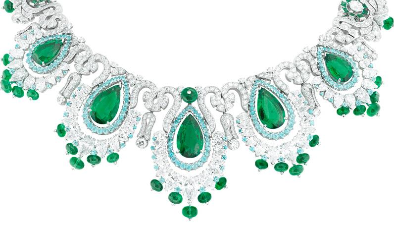 高级珠宝品牌Van Cleef & Arpels梵克雅宝的祖母绿宝石传奇