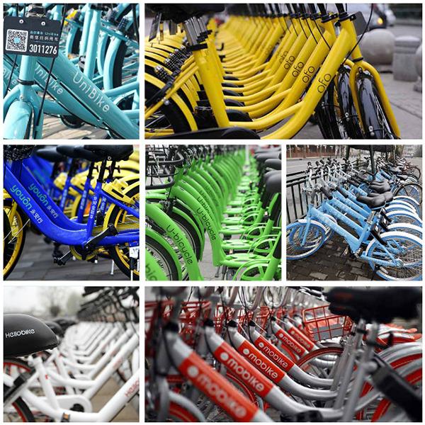 杭州共享单车堆积如山 政府请您来支招