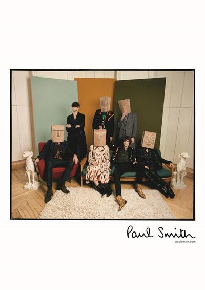 Paul Smith(保罗·史密斯)发布2017年秋冬系列广告