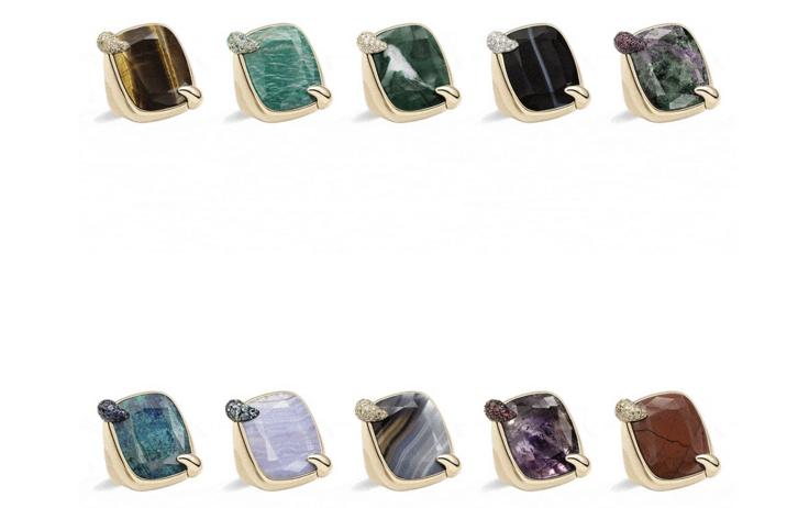 宝曼兰朵珠宝推出50周年纪念款Ritratto系列特殊宝石新作