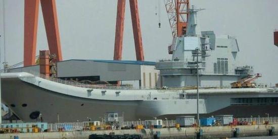 中国003航母有望3年内下水 已完成初步设计并进入研制阶段