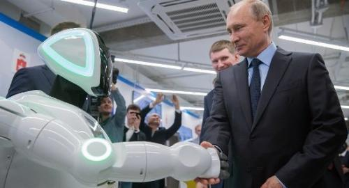 俄罗斯电力机器人多次试图从试验场逃跑 在街上行驶50米耗尽电力