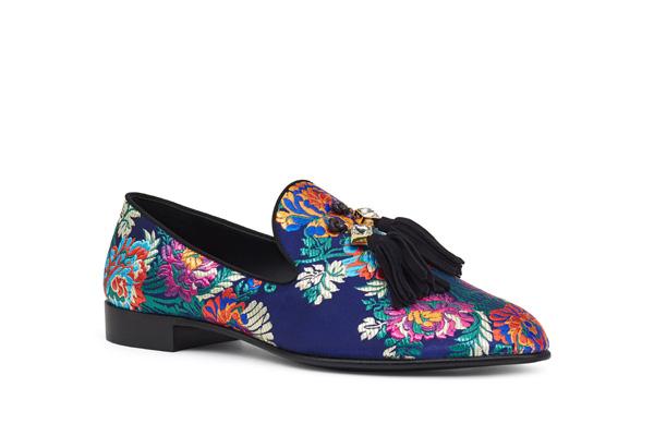 Giuseppe Zanotti推出2017秋冬刺绣系列女鞋