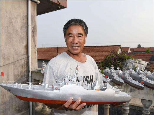 高手在民间!渔民打造军舰帝国
