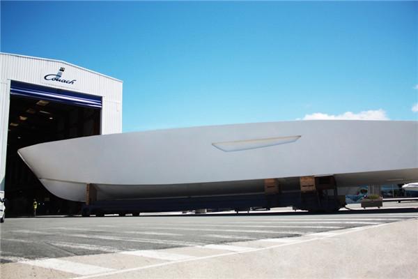 Couach于戛纳公布全新3707超级游艇项目