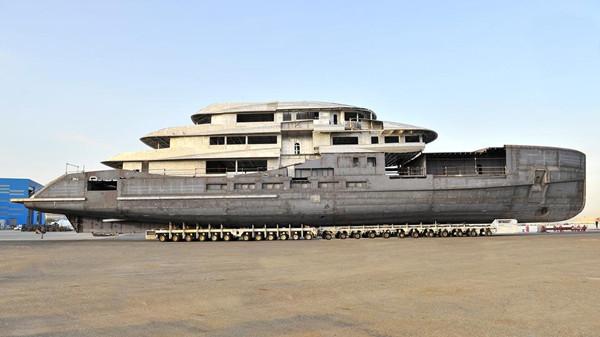 贝尼蒂公布70米Alkhor游艇最新消息 2019年夏季发布
