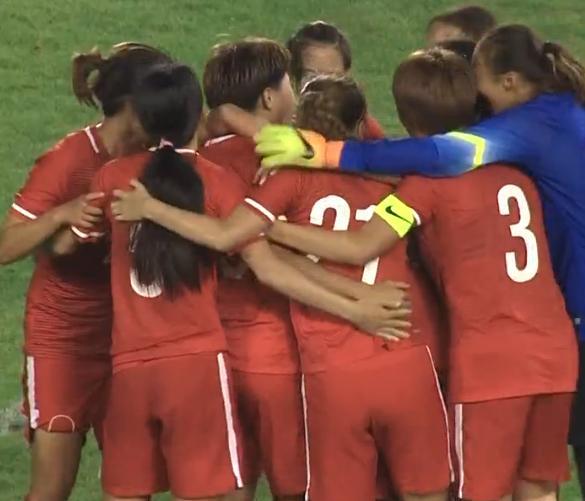 日本女足提前庆祝被打脸 中国女足在最后时刻进球扳平了比分!