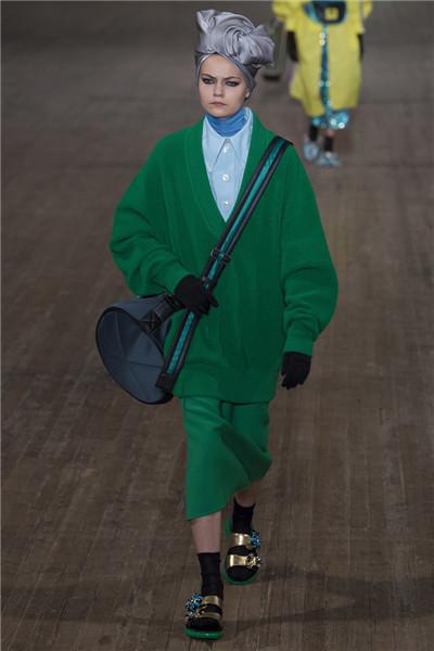 Marc Jacobs于纽约时装周发布2018春夏系列时装秀