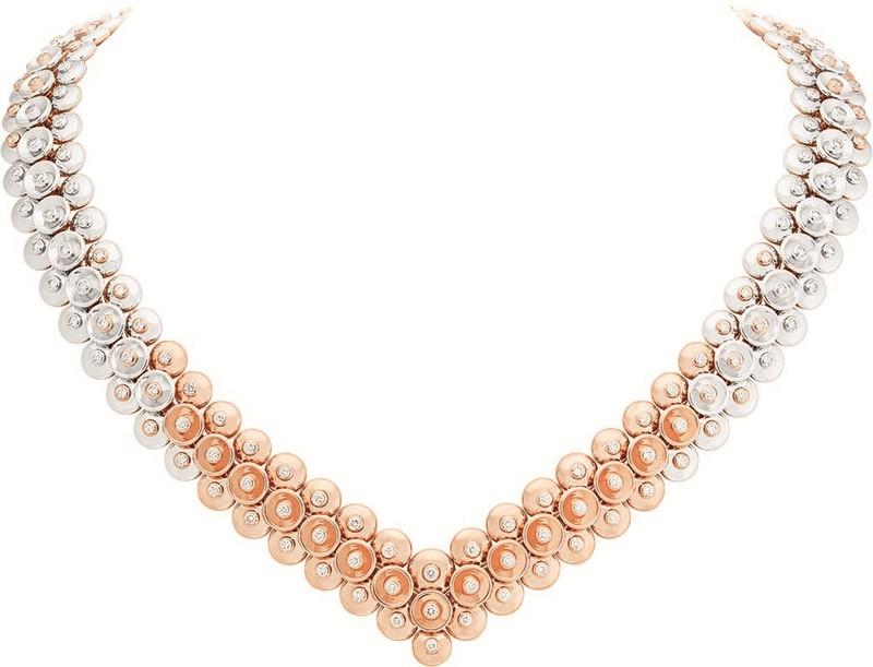 梵克雅宝Bouton d'or™系列珠宝 崭新材质组合勾勒优雅现代风