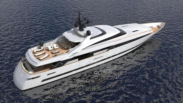 ISA游艇厂商在建全新ISA Alloy 43动力艇项目售出