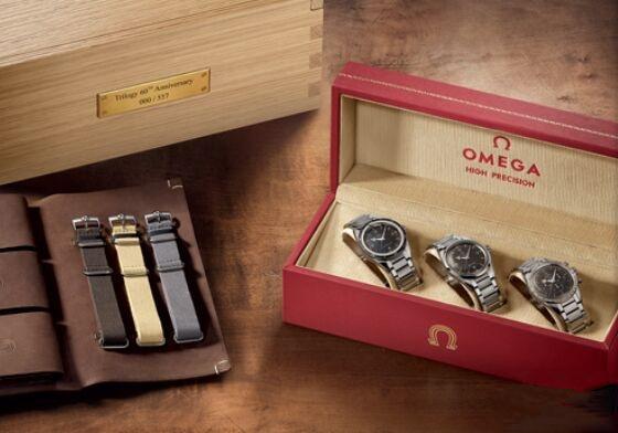 欧米茄推出全新LE 557限量版三部曲腕表