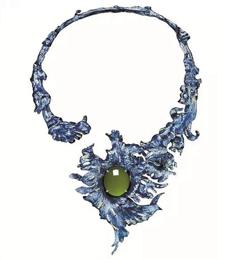 TTF高级定制珠宝水舞间惊艳亮相香港国际珠宝展 尽显东方之美