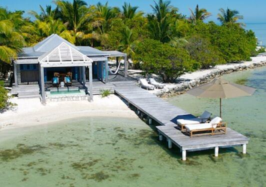 """Cayo Espanto豪宅发售 蔚蓝海洋就变身你的""""后花园"""""""