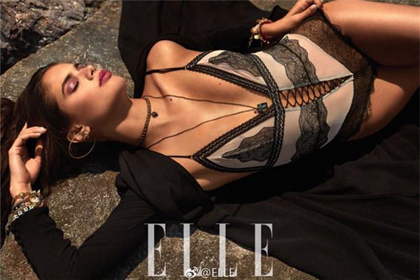 超模Sara Sampaio登上《ELLE世界时装之苑》杂志封面